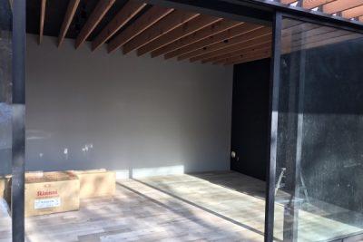 勝浦市・新築工事 室内塗装
